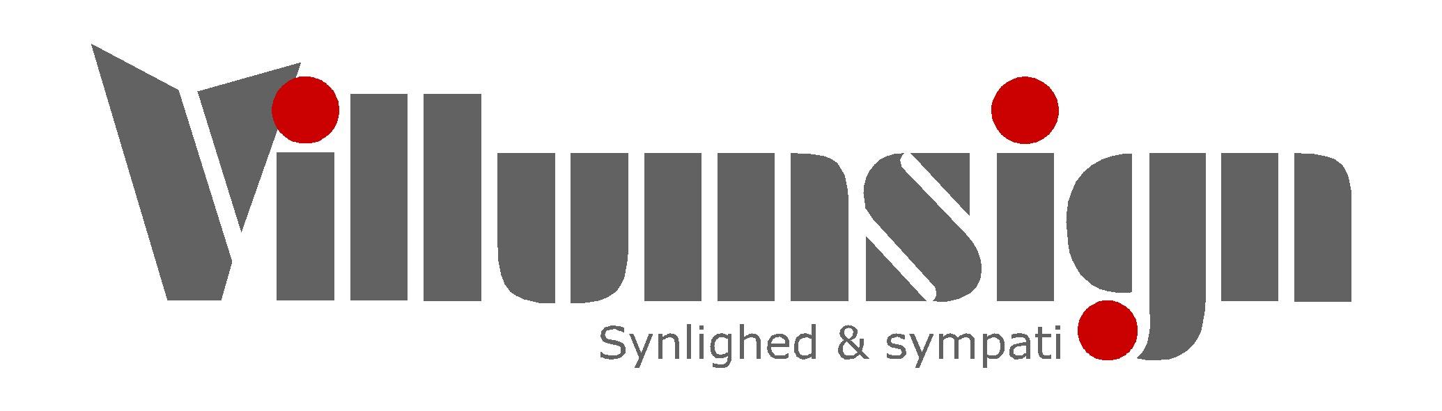 Villumsign Logo 88 X 25 Mm Med Hvid Baggrund